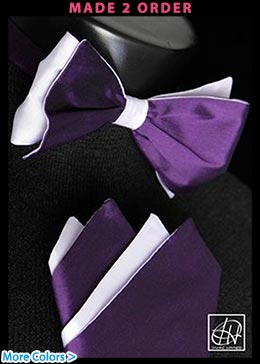 Two Color Bow Tie