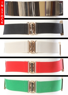 In Stock! Gold Plate Belt