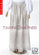 Tawni Haynes In-Stock Gathered High Waist Swing Skirt