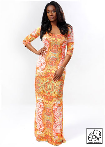 Tribal Paisley Maxi Dress