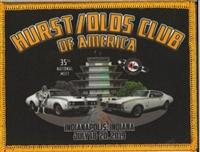 Hurst/Olds National Meet Patch