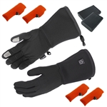 Cordless Rechargeable Battery Heated Glove Liners