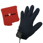 Freedom Weightless RECHARGEABLE Battery Heated Glove Liners - All Day Package