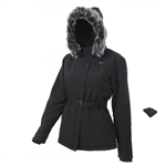 ActiVHeat Womens Heated  Soft-Shell Hooded Jacket