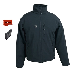 ActiVHeat Men's RECHARGEABLE TurboHeat Insulated Soft-Shell Jacket Bundle