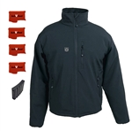 ActiVHeat Men's RECHARGEABLE TurboHeat Insulated Soft-Shell Jacket - EXTREME Bundle