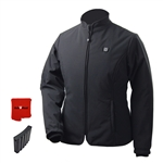 ActiVHeat Women's RECHARGEABLE TurboHeat Insulated Soft-Shell Jacket - All Day Bundle