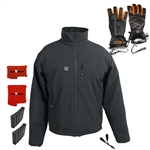 ActiVHeat Men's TurboHeat Jacket + Heated Gloves All-Day DYNAMIC Bundle