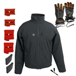 ActiVHeat Men's TurboHeat Jacket + Heated Gloves Everlasting Premium Bundle