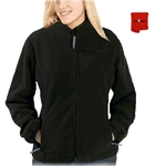 ActiVHeat Women's RECHARGEABLE Heated Windproof Fleece Jacket - ALL DAY Bundle