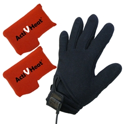 Freedom Weightless RECHARGEABLE Battery Heated Glove Liners - Ultimate Package