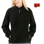 ActiVHeat Women's RECHARGEABLE Heated Windproof Fleece Jacket
