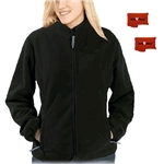 ActiVHeat Women's RECHARGEABLE Heated Windproof Fleece Jacket - Ultimate Package