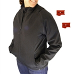 ActiVHeat Women's RECHARGEABLE Heated Insulated Soft-Shell Convertible Jacket - Ultimate Bundle