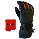 ActiVHeat WX4 Weightless Rechargeable Battery Heated Crossover Men's Glove All-Day Bundle
