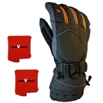 ActiVHeat WX4 Weightless Rechargeable Battery Heated Crossover Men's Glove All-Day MAX Package