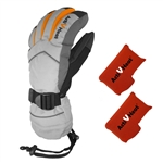 ActiVHeat WX4 Weightless Rechargeable Battery Heated Crossover Women's Glove Ultimate Bundle