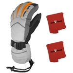 ActiVHeat WX4 Weightless Rechargeable Battery Heated Crossover Women's Glove ALL-DAY MAX Package