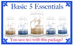 BASIC 5 ESSENTIALS PACKAGE