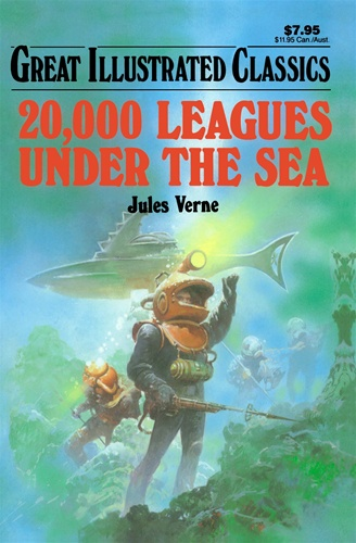 a book report on 20000 leagues under the sea a novel by jules verne Twenty thousand leagues under the sea: a tour of the underwater world is a  classic literature fiction adventure novel by french writer jules verne in 1870.