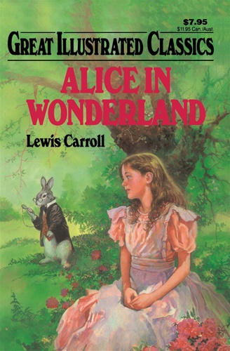 Good Illustrated Book Covers : Alice in wonderland great illustrated classics lewis