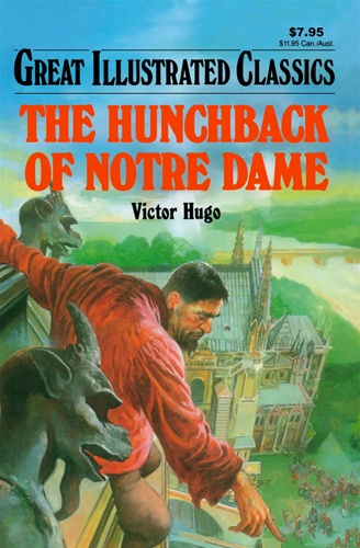 Great Illustrated Book Covers : Hunchback of notre dame great illustrated classics