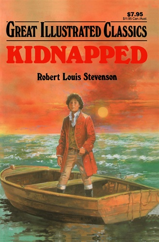 Good Illustrated Book Covers : Kidnapped great illustrated classics robert louis stevenson