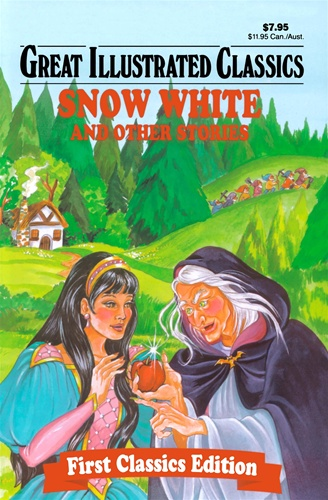 Great Illustrated Book Covers : Snow white and other stories great illustrated classics