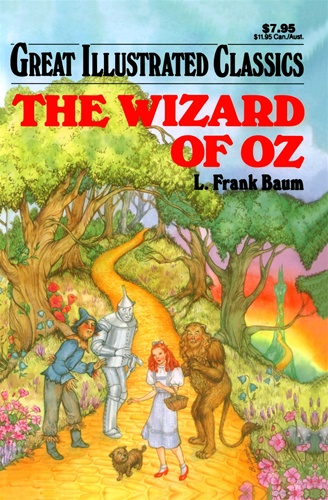 Great Illustrated Book Covers : Wizard of oz great illustrated classics l frank baum