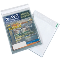 "9"" x 12"" Clear View Poly Mailer"