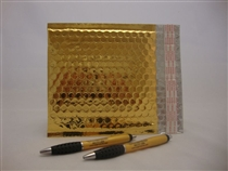 "50 13"" x 17.5"" gold metallic bubble mailer"