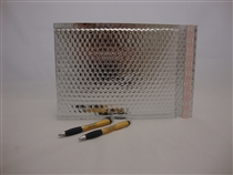 "250 7"" x 11"" silver metallic bubble mailer"