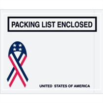 "4.5"" x 5.5"" USA Packing List"