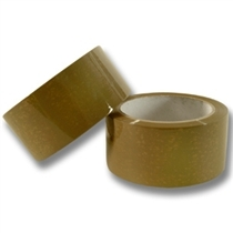 "Tan Acrylic Tape - 2"" x 110 yds. x 1.80 Mil"