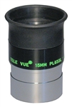 "TELEVUE PLOSSL, 1.25"", 4-ELEMENT, 15MM, 50 DEGREES"