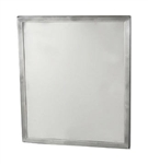 "Framed Security Mirror- 18"" by 24"" Seamless Frame with Concealed Mount"