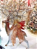 December Diamonds Large Standing Christmas Reindeer Tree
