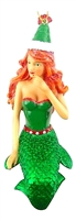 December Diamonds Ginger Snap Mermaid Ornament