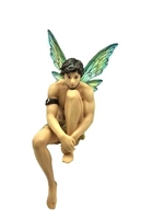 December Diamonds Puck Male Fairy Christmas Tree Ornament