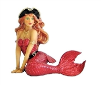 December Diamonds Scarlett the Pirate Mermaid Christmas Ornament Decoration
