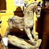 "GERSON 16.3""H Resin Antique Rocking Horse"