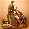 GERSON 38''H B/O LIGHTED RESIN NATIVITY FIGURINE. SOLD OUT FOR THE SEASON!