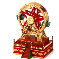 MR CHRISTMAS WORLD'S FAIR MINI CARNIVAL FERRIS WHEEL
