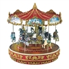 MR CHRISTMAS WORLD'S FAIR TRIPLE DECKER CAROUSEL
