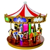MR CHRISTMAS WORLD'S FAIR GRAND CAROUSEL