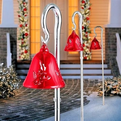 MR CHRISTMAS PATHWAY LIGHTED BELLS (RED) out of stock