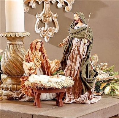 "RAZ IMPORTS 13.5"" HOLY FAMILY (Set of 3)"