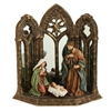 "RAZ IMPORTS 12.5"" MIRRORED HOLY FAMILY"