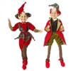 "RAZ IMPORTS 20"" POSABLE ELF (Set of 2)"