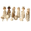 "RAZ IMPORTS 8.5"" FAUX KNIT NATIVITY (Set of 11)"